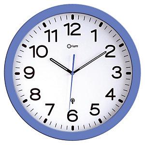 Horloge radio-controlée bleue
