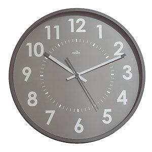 Horloge silencieuse Abylis Ø 30 cm coloris gris