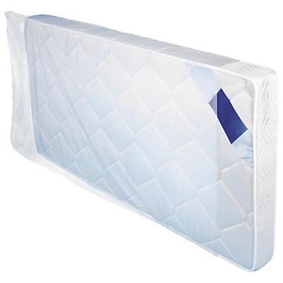 Housse plastique transparente pour literie 50 microns
