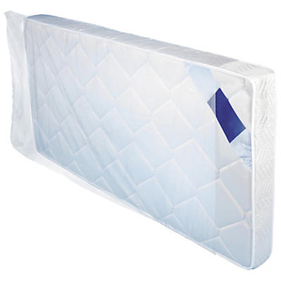 Housse plastique transparente pour literie