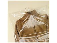 Housse plastique transparente pour vêtements
