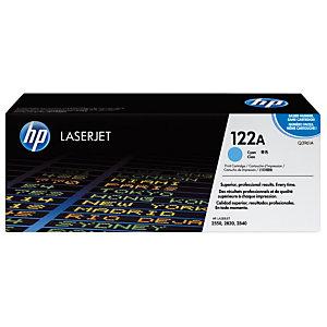 HP 122A Toner authentique  (Q3961A) - Cyan