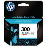 HP 300, CC643EE, Cartucho de Tinta, Tricolor