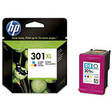 HP 301XL, CH564EE, Cartucho de Tinta, Tricolor