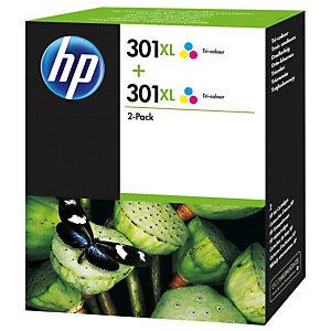 HP 301XL, D8J46AE, Cartucho de Tinta, Tricolor