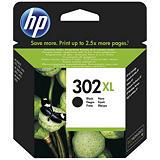 HP 302XL Cartouche d'encre authentique grande capacité (F6U68AE) - Noir