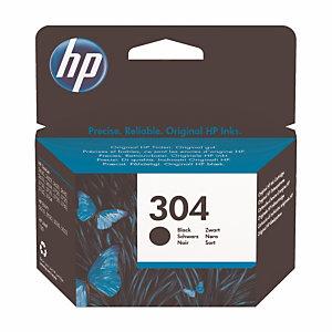 HP 304 cartouche d'encre noire conçue par HP, noir (N9K06AE)