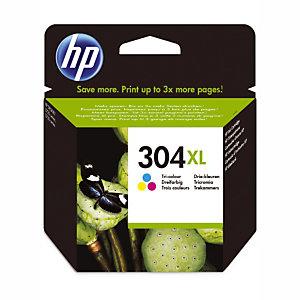 HP 304XL cartouche d'encre trois couleurs conçue par HP (N9K07AE)