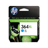 HP 364XL, CB323EE, Cartucho de Tinta, Cian