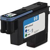 HP 70, C9408A, Cabezal de impresión, Azul, Verde