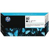 HP 80, C4820A, Cabezal de Impresión, Negro, Alta capacidad