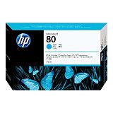 HP 80, C4872A, Cartucho de Tinta, Cian
