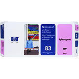 HP 83, C4965A, Cabezal de Impresión, Magenta Claro
