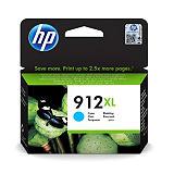 HP 912XL, 3YL81AE, Cartucho de Tinta, Cian, Alta Capacidad