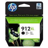 HP 912XL, 3YL84AE, Cartucho de Tinta, Negro, Alta Capacidad