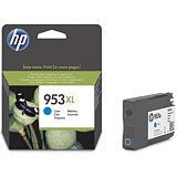 HP 953XL Cartouche d'encre authentique grande capacité (F6U16AE) - Cyan