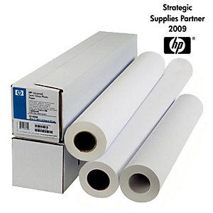 HP Carta per plotter patinata 61,0 cm x 45 m Bianco 90 g/mq 1 Rotolo (C6019B)
