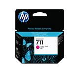 HP Cartuccia inkjet 711, CZ131A, Pacco singolo, Magenta