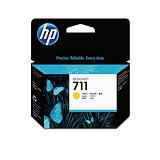 HP Cartuccia inkjet 711, CZ132A, Pacco singolo, Giallo