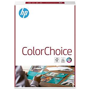 HP ColorChoice Carta per Stampanti Laser A4, 160 g/m², Bianco (confezione 250 fogli)