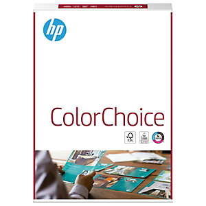 HP ColorChoice Papel para impresora láser, A4, 200 g/m², blanco