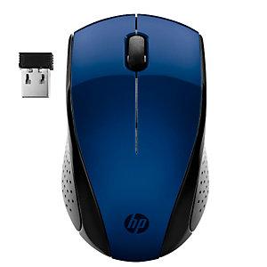 HP, Hp wireless mouse 220 blue, 7KX11AA