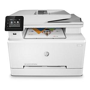HP Impresora Multifunción a color LaserJet Pro, MFP M283fdw, A4 (210 x 297 mm), color blanco