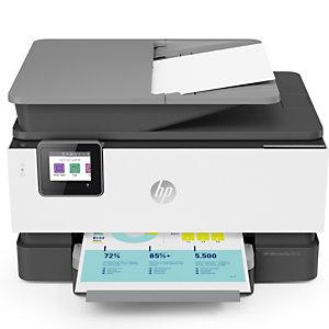 HP Impresora OfficeJet Pro 9010, Multifunción, conexión Wi-Fi, A4 (210 x 297 mm)