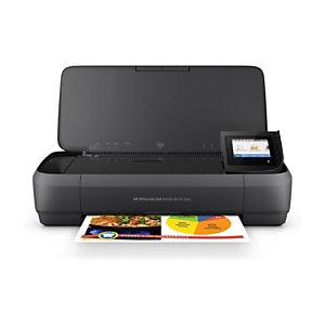 HP Imprimante multifonction jet d'encre couleur mobile, OfficeJet 250, A4, Compatible réseau sans fil