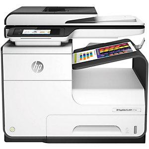 HP Imprimante multifonction PageWide Pro 477DW, sans fil, A4