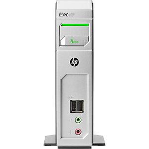 HP INC HP Cliente t310 Quad-Display Zero, TERA2140, 0,5 GB, DDR3-SDRAM, 1333 MHz, 10/100/1000Base-T(X), VMware Horizon View through PCoIP; VMware Horizon DaaS through PCoIP; Amazon WorkSpaces through... X9S70EA