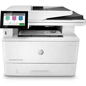 HP INC HP LaserJet Enterprise MFP M430f, Inyección de tinta térmica, 600 x 600 DPI, Copias en blanco y negro, Escaneo a color, A5, Blanco 3PZ55A