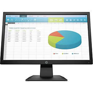 "HP INC HP P204, 49,5 cm (19.5""), 1600 x 900 Pixeles, HD+, LED, 5 ms, Negro 5RD65AA"