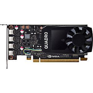 HP INC HP Tarjeta gráfica NVIDIA Quadro P1000 de 4 GB, Quadro P1000, 4 GB, GDDR5, 128 bit, 5120 x 2880 Pixeles, PCI Express x16 3.0 1ME01AA