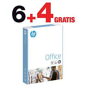 HP Office Papel Multifunción para Faxes, Fotocopiadoras, Impresoras Láser e Impresoras de Inyección de Tinta Blanco A4 80 g/m²