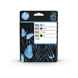 HP Pack de 4 cartuchos de tinta Original HP 903 negro/cian/magenta/amarillo