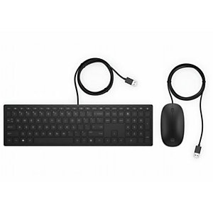 HP, Pavilion wired keyboard and mouse, 4CE97AA