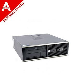 HP PC 6300 SFF Core i5-3xxx, 4GB, SSD 240GB, Win 10 Pro Mar, Ricondizionato Classe A
