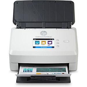 HP Scanjet Enterprise Flow N7000 snw1, 216 x 3098 mm, 600 x 600 DPI, 48 bit, 24 bit, Alimentation papier de scanner, Blanc 6FW10A#B19