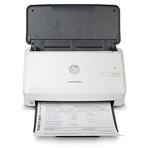 HP Scanjet Pro 3000 s4, 216 x 3100 mm, 600 x 600 DPI, 48 bit, 24 bit, 40 ppm, Alimentation papier de scanner 6FW07A#B19