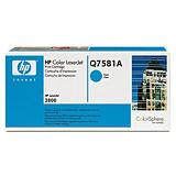 HP Toner originale 503A, Q7581A, Ciano, Pacco singolo