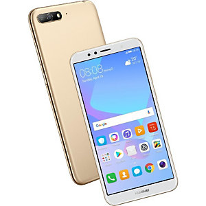 """Huawei Y6, 14,5 cm (5.7""""), 2 Go, 16 Go, 13 MP, Android 8.0, Or 51092HJX"""