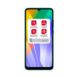 """Huawei Y6p, 16 cm (6.3""""), 3 Go, 64 Go, 13 MP, Android 10.0, Vert 51095KYX"""