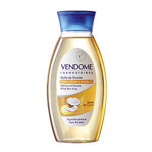 Huile de douche Vendome à l'huile de Coco, flacon de 250 ml
