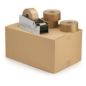 Humecteur manuel pour bande gommée standard