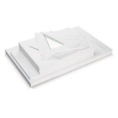 Hvidt silkepapir i ark