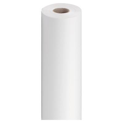 Hvidt silkepapir på rulle