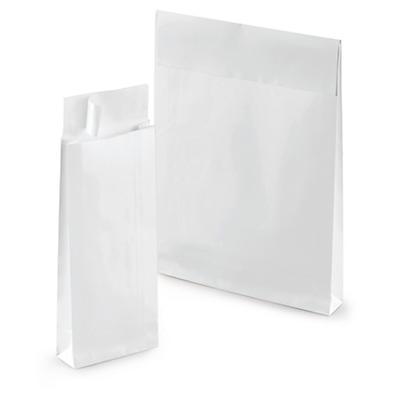 Hvite prøveposer