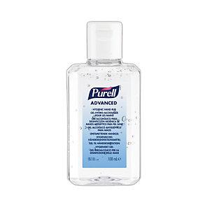 Hydroalcoholische gel Purell, flesje van 100 ml