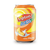 ICE TEA Lipton Pêche